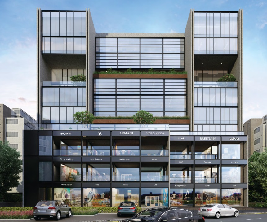 Commercial Project CG Road