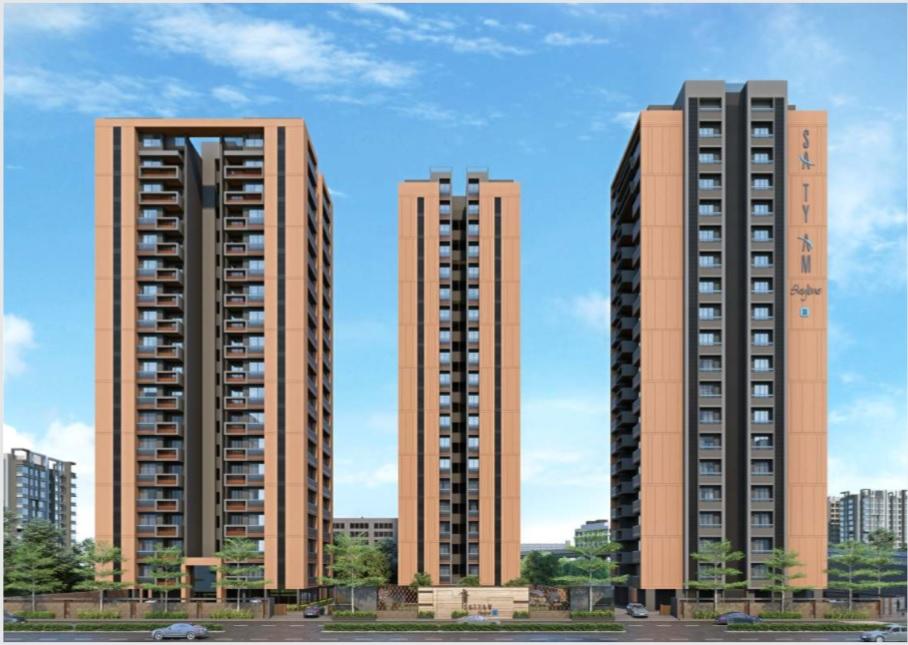 3/4 BHK Flats in Naranpura Ahmedabad