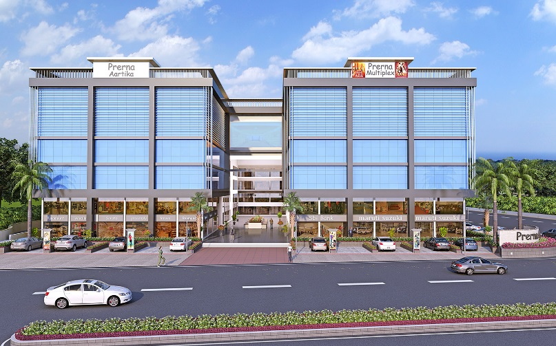 Commercial Project At Sanand