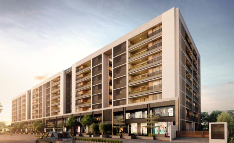 Shivalik Avenue Premium Residential and Commercial Project in Bodakdev