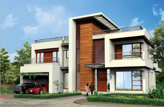 North Park Villa in Adani Shantigram, Ahmedabad