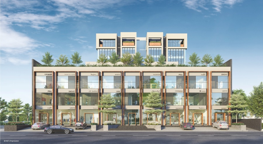 Inceptum Retail Commercial Project Near iskcon