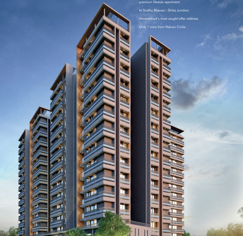 3 BHK Residential Project In Shilaj